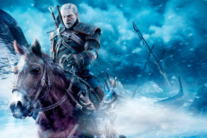 The Witcher 3 Wild Geralt Of Rivia Fanart Wallpaper