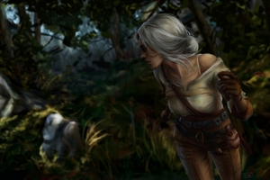 The Witcher 3 Wild Hunt Cirilla