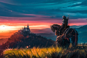 The Witcher 3 Wild Hunt Fanart Wallpaper