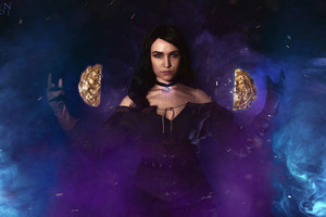 The Witcher 3 Wild Hunt Yennefer Of Vengerberg Cosplay Wallpaper