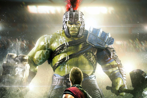 Thor And Hulk In Thor Rangnarok