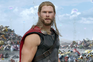 Thor In Thor Rangnarok Movie Wallpaper