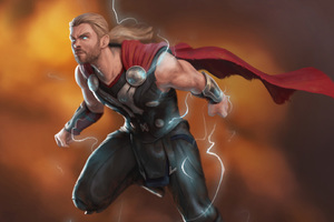 Thor Lighting God Wallpaper