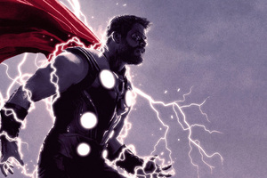 Thor Thunder Lighting Wallpaper