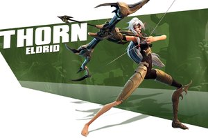 Thorn Eldrid Battleborn Video Game