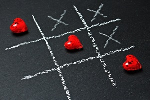 Tic Tac Toe Love Wallpaper