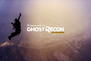Tom Clancys Ghost Recon Wildlands 4k Logo Wallpaper