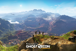 Tom Clancys Ghost Recon Wildlands Artwork