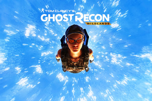 Tom Clancys Ghost Recon Wildlands Skydiving 4k Wallpaper