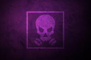 Tom Clancys Rainbow Six Siege Minimalist Smoke Skull 12k Wallpaper