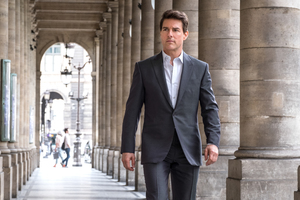 Tom Cruise As Ethan Hunt In Mission Impossible Fallout Movie 2018 Wallpaper