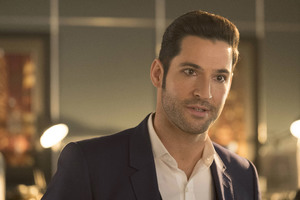 Tom Ellis As Lucifer Season 3 2017 5k
