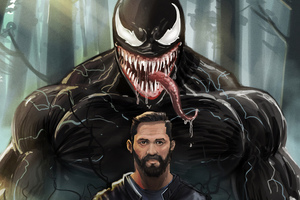 Tom Hardy Venom 8k Wallpaper