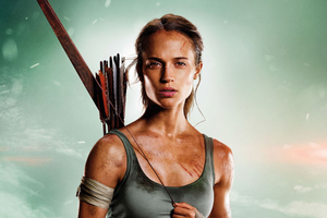 Tomb Raider 2018 Alicia Vikander HD