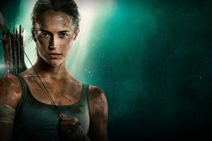 Tomb Raider 2018 Movie Alicia Vikander Poster