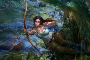 Tomb Raider 5k Arts Wallpaper