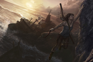 Tomb Raider 5k Artwork Wallpaper