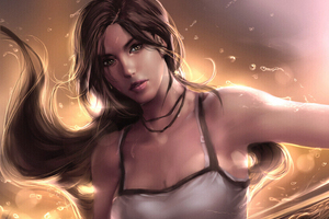 Tomb Raider 5k Artworks Wallpaper