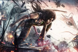 Tomb Raider 8k Artwork Wallpaper