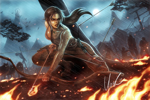 Tomb Raider Arts Wallpaper