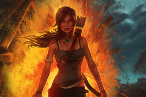 Tomb Raider Artworks Wallpaper