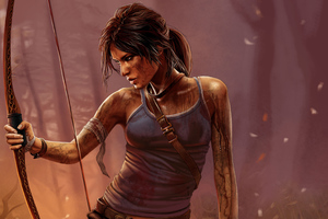 Tomb Raider Lara Croft Art 4k Wallpaper