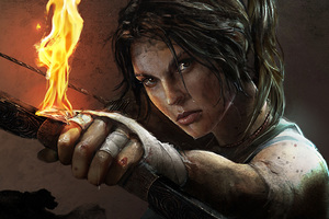 Tomb Raider Lara Croft Artwork 4k Wallpaper