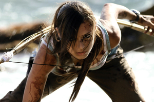 Tomb Raider Lara Croft Cosplay Wallpaper