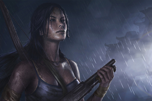 Tomb Raider Reborn 5k Art