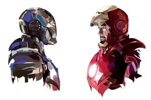 Tony Stark Iron Man Art