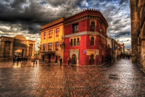 Town HDR Wallpaper