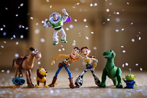 Toy Story Photography Wallpaper