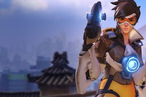 Tracer In Overwatch Game