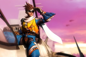Tracer Overwatch Artwork