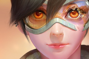 Tracer Overwatch Fan Art