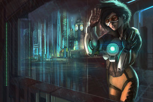 Tracer Ovewatch 2 Artwork