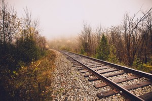 Train Track 2 Wallpaper