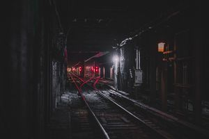 Train Tunnel 8k Wallpaper