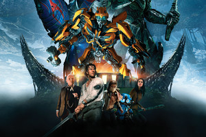 Transformers The Last Knight 2017 Movie Wallpaper