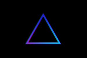 Triangle Minimalist 4k Wallpaper
