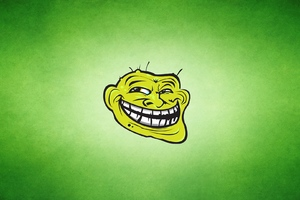 Trollface Art Wallpaper