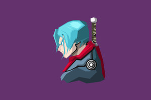 Trunks Dragon Ball Super Minimalism 4k