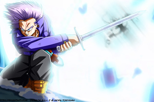 Trunks Dragon Ball Z 4k Wallpaper
