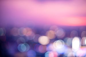 Twilight Abstract Blur Wallpaper