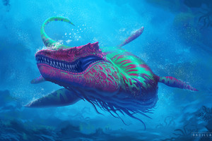 Under Water Creature Wallpaper