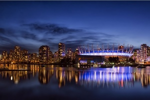 Vancouver City Night