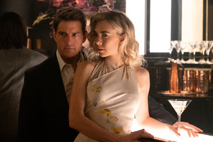 Vanessa Kirby And Tom Cruise In Mission Impossible Fallout Movie Wallpaper
