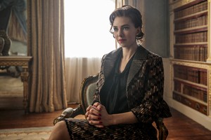 Vanessa Kirby As Princess Margaret In The Crown Tv Series Wallpaper
