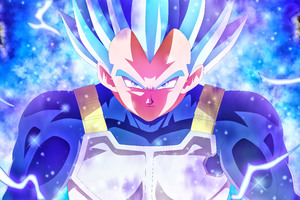 Vegeta Blue 5k Anime