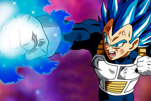 Vegetta Puno Destructor Dragon Ball Super 5k Wallpaper